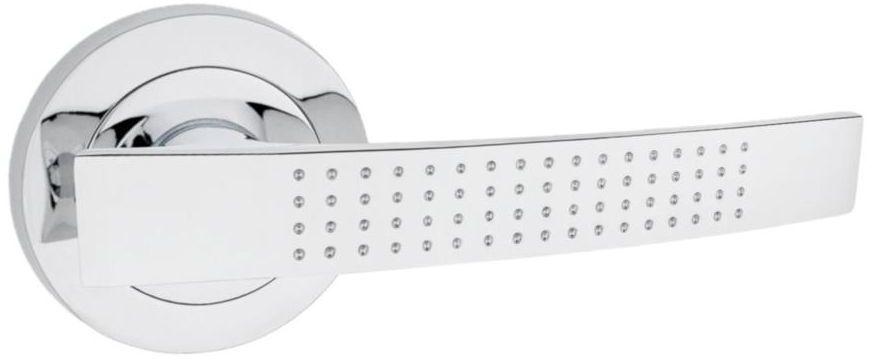 Klamka drzwiowa na rozecie Alma Chrom Domino