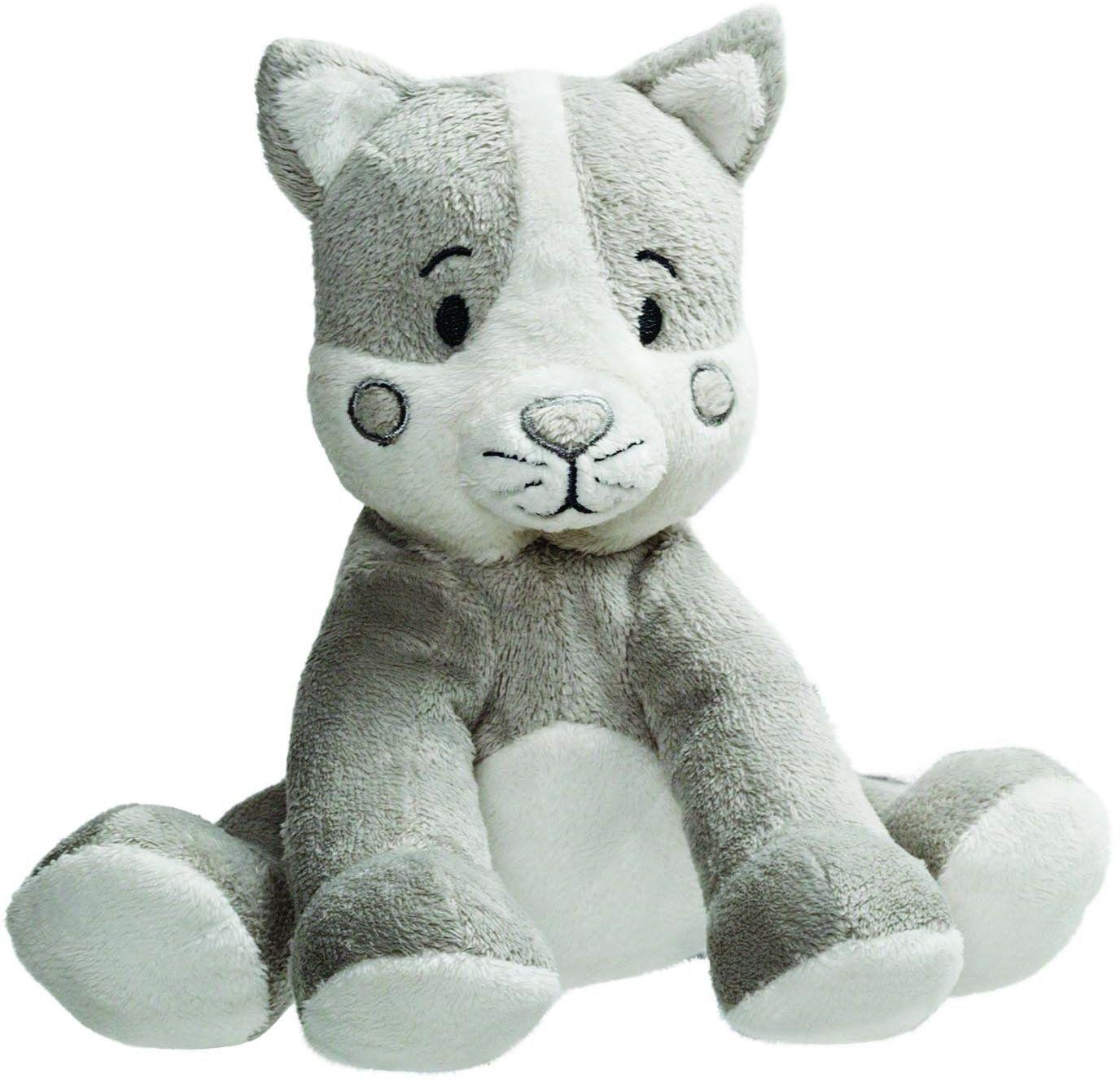 Gifts 10150 Cuddle Tots kot pluszowe zwierzątko z grzechotką, 14 cm