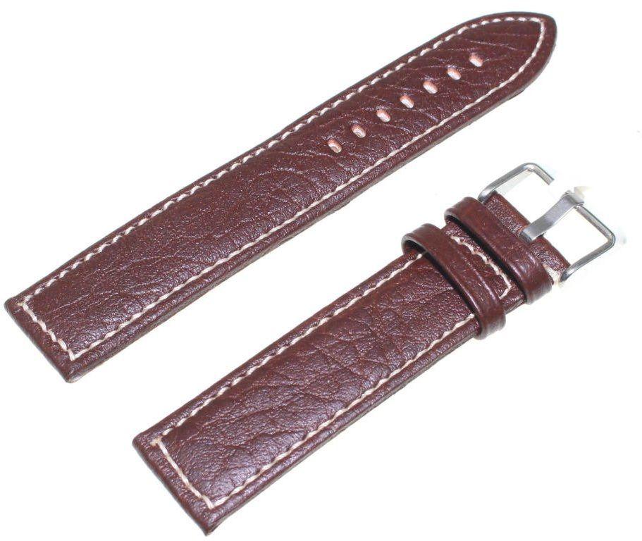 Skórzany pasek do zegarka 20 mm JVD R22602-20