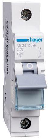 Wyłącznik nadprądowy 1P C 25A 6kA AC MCN125E