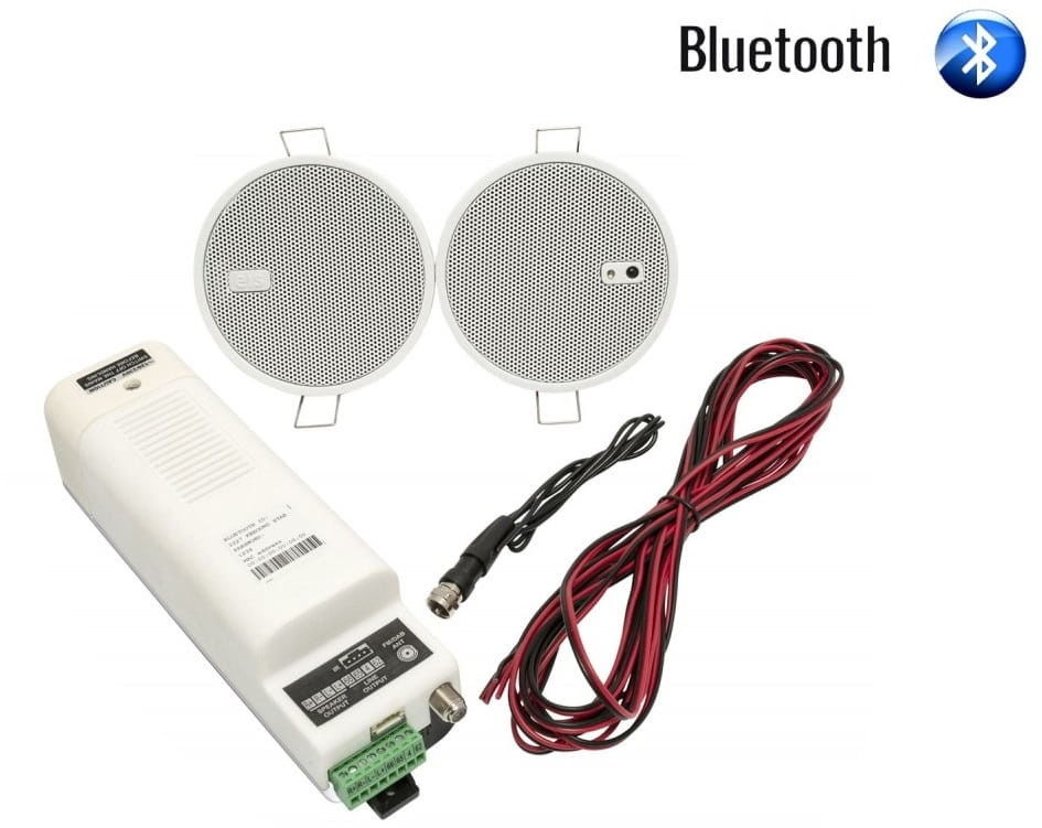 EisSound KB Sound Star 2,5 Głośniki Białe Bluetooth 50804 50804