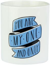"Mr. Wonderful filiżanka z napisem ""You Are My One And Only"""