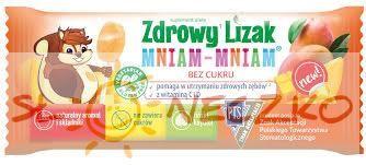 Zdrowy lizak MNIAM-MNIAM - Mango - 1szt (6g)