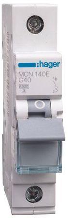 Wyłącznik nadprądowy 1P C 40A 6kA AC MCN140E