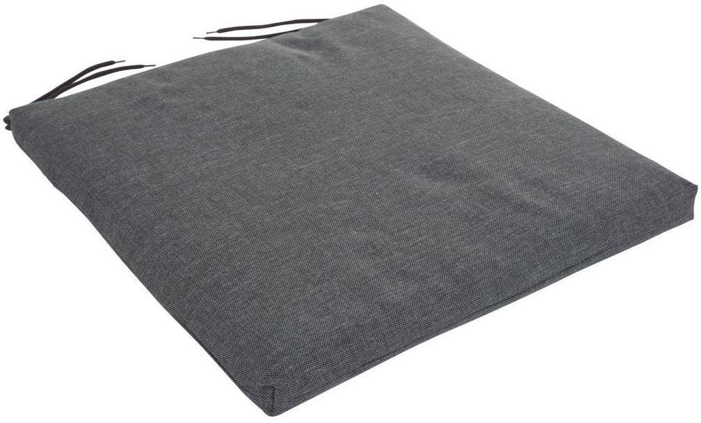 Poduszka na siedzisko 46 x 44 x 4 cm CINO szara PATIO