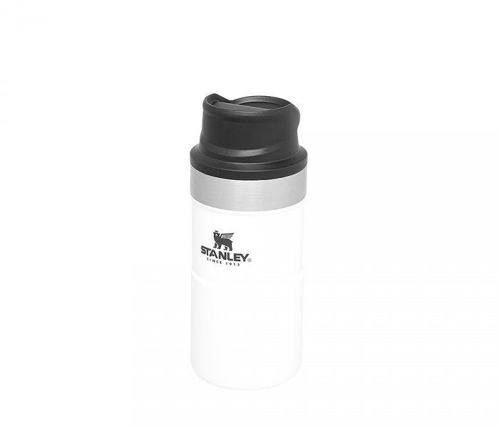 Kubek termiczny Stanley 250 ml TRIGGER ACTION TRAVEL MUG (biały)