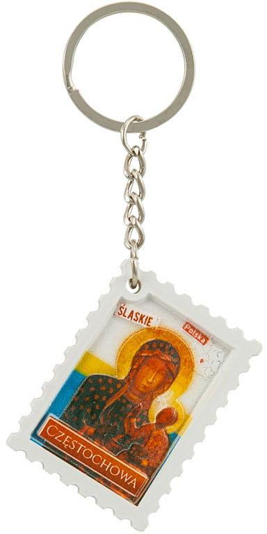 Breloczek znaczek drukowany Częstochowa