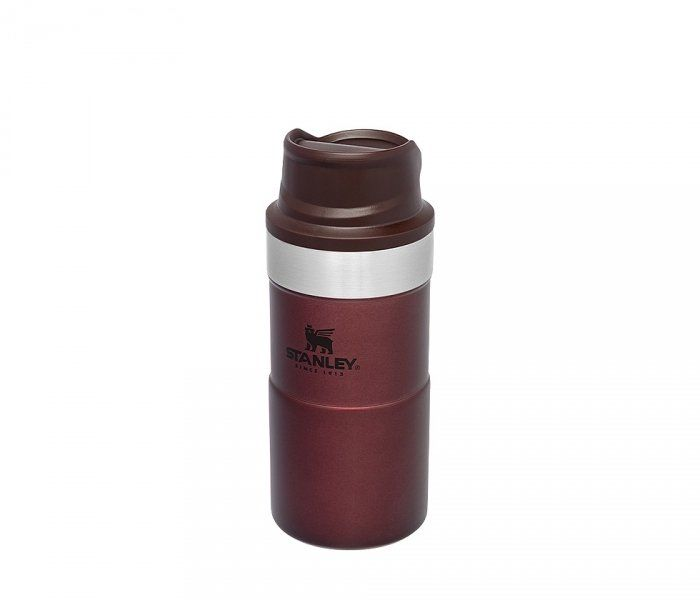 Kubek termiczny Stanley 250 ml TRIGGER ACTION TRAVEL MUG (bordowy)