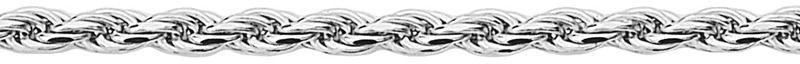 Staviori łańcuszek kord srebro rodowane 0,925.