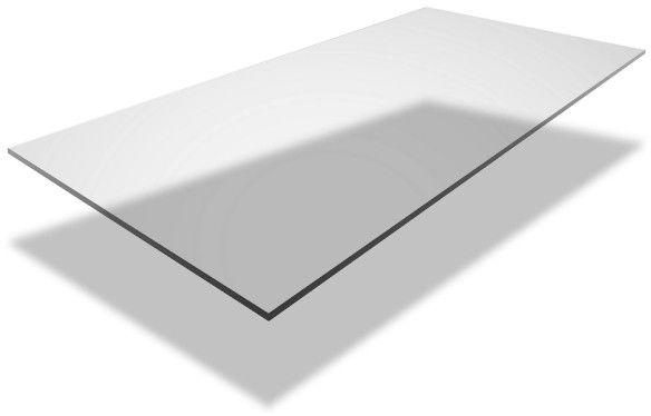 Płyta poliwęglan lity 2 mm 50 x 50 cm bezbarwna