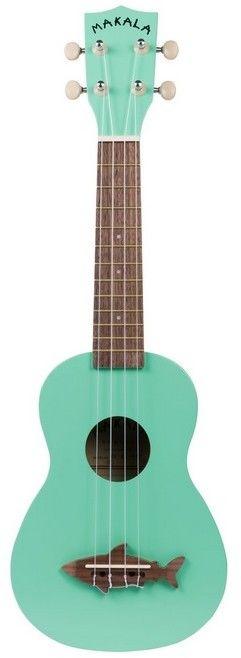 Kala Makala MK-SS/GRN - ukulele sopranowe