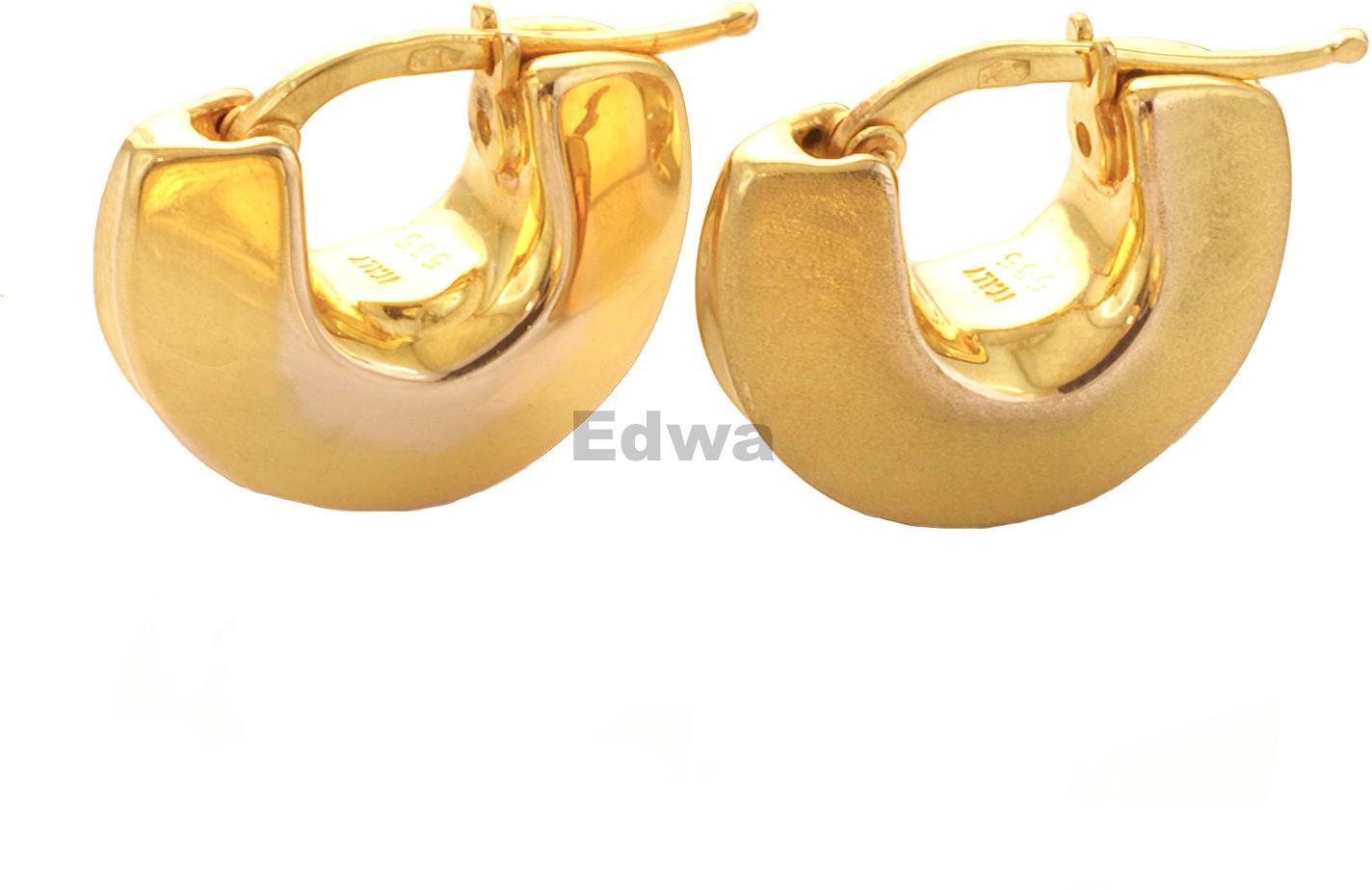 Kolczyki złote, pr.585
