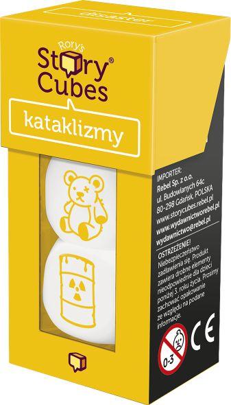 Story Cubes: Kataklizmy ZAKŁADKA DO KSIĄŻEK GRATIS DO KAŻDEGO ZAMÓWIENIA