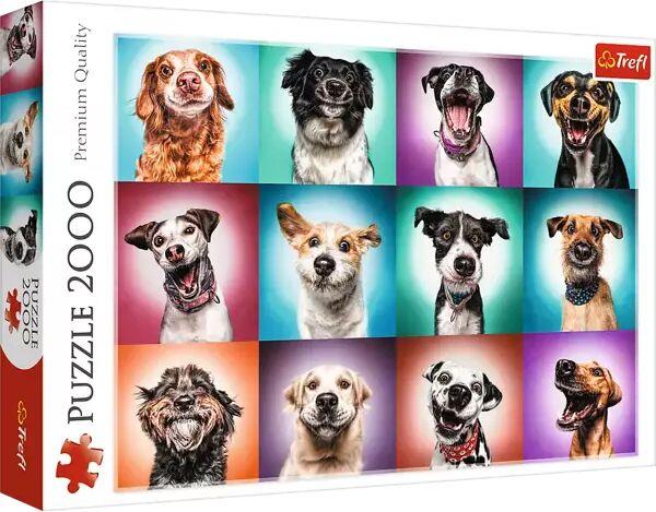 Puzzle 2000 Zabawne psie portrety II 27119 - Trefl PAP