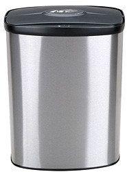 kosze bezdotykowe Bezdotykowy kosz na odpady 8L prostokątny