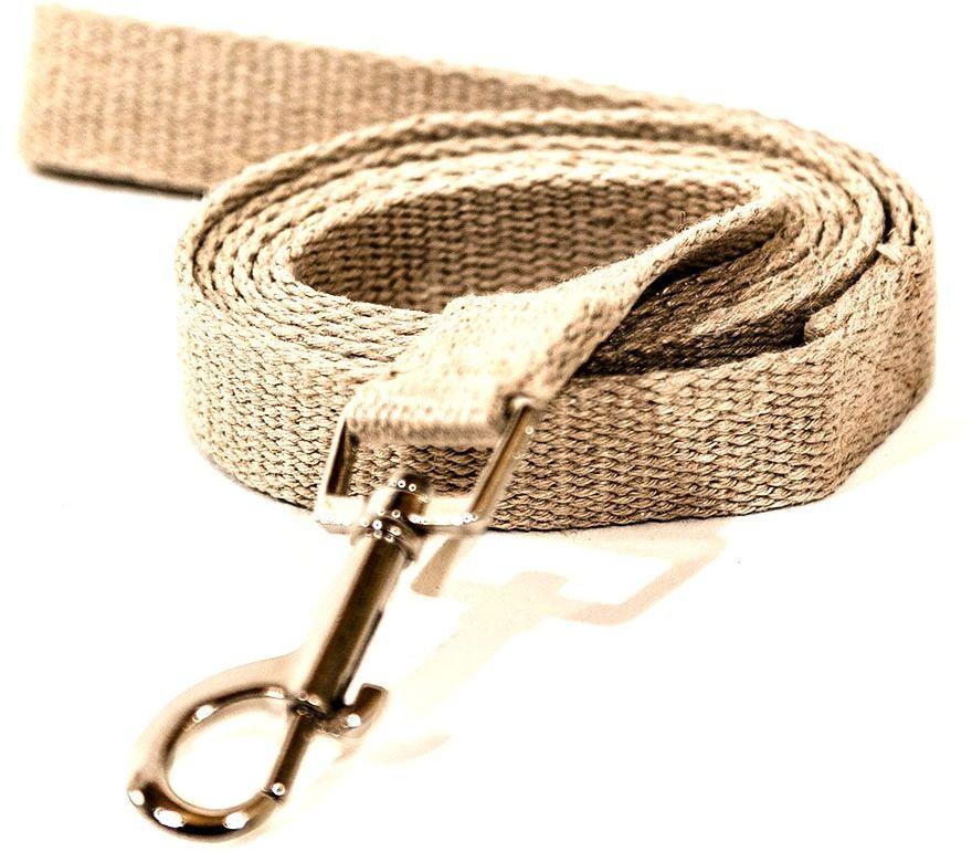 HEMPSY Smycz z włókna konopnego dla psa 167cm