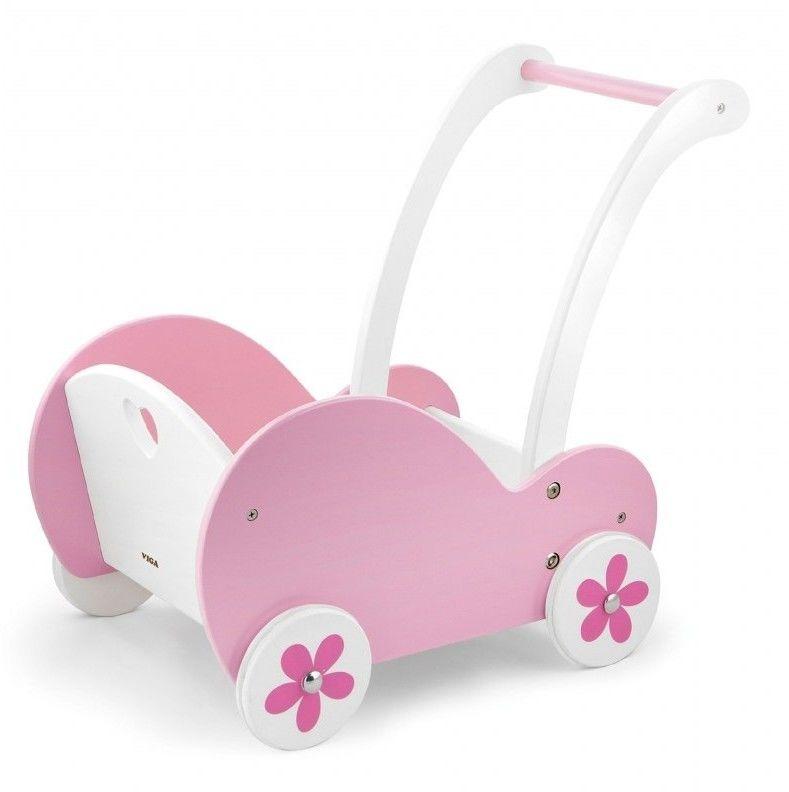 Viga Wózek dla Lalek różowy