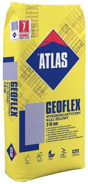 Wysokoelastyczny klej żelowy Atlas Geoflex C2TE 22,5 kg