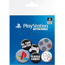 Playstation - zestaw przypinek