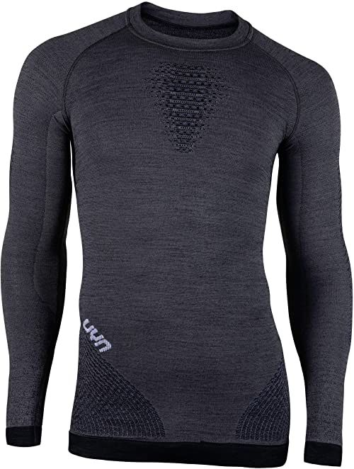 UYN męska koszulka kompresyjna Fusyon, szara York/Avio/biała, 2 x duża