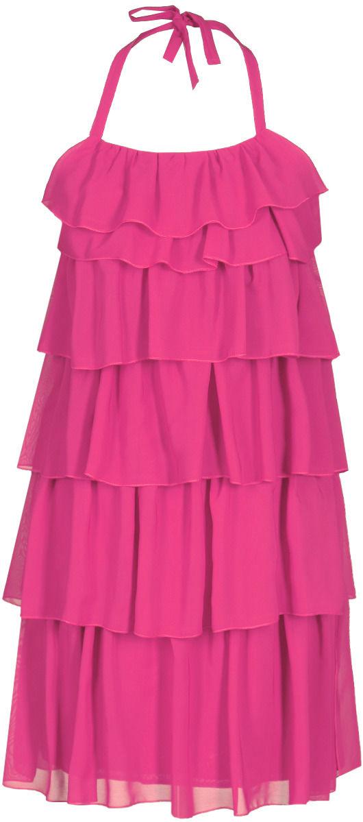 Sukienka FSU150 AMARANTOWY JASNY