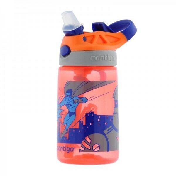 Contigo Gizmo Flip 420 ml Nectar SH Tangerine Kubek dziecięcy
