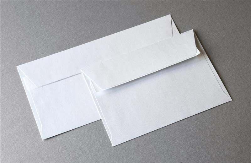 Koperta biała C6 114x162mm Millenium 120g/m2 10szt. /282101/