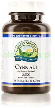 NSP Cynk ALT - Nature''s Sunshine 120 tabletek