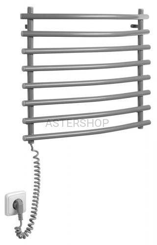 AQUALINE łazienkowy suszarko ogrzewacz elektryczny (suszarka) stal srebrny metalik 72 W 570x465mm SU210A