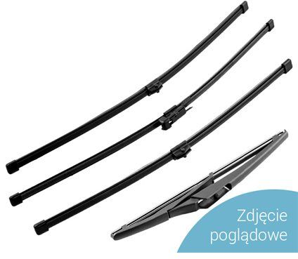 Oximo WR840380 / 380 mm / wycieraczka tylna