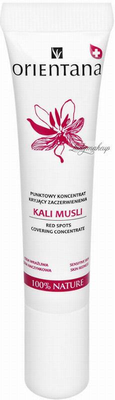 ORIENTANA - KALI MUSLI - RED SPOTS COVERING CONCENTRATE - Punktowy koncentrat kryjący zaczerwienienia - 15 ml