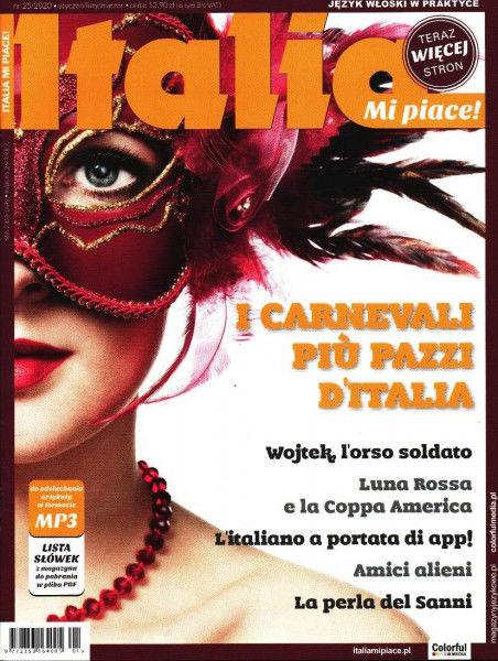 Italia Mi Piace! 25/2020 ZAKŁADKA DO KSIĄŻEK GRATIS DO KAŻDEGO ZAMÓWIENIA