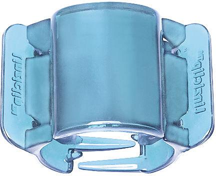 Linziclip Klamra do włosów Midi Translucent Real Blue 1 szt.