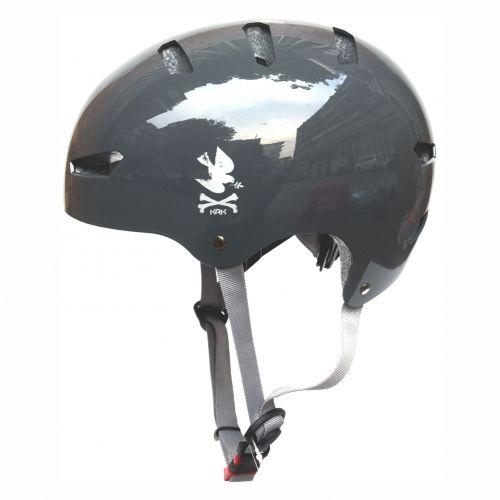 KRKpro kask NoPeace Grey/Grey BMX MTB Skate Rolki