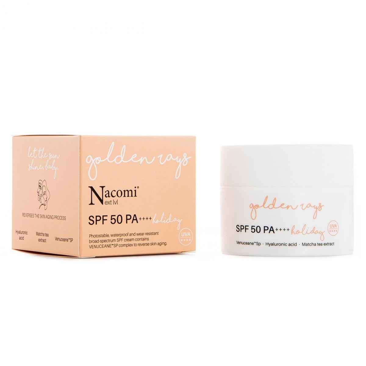 Krem SPF 50 UV Holiday - 50ml - Nacomi