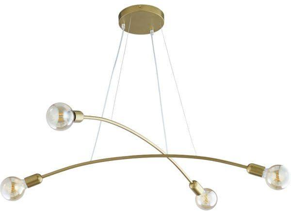 Nowoczesna lampa wisząca HELIX 2727 złota