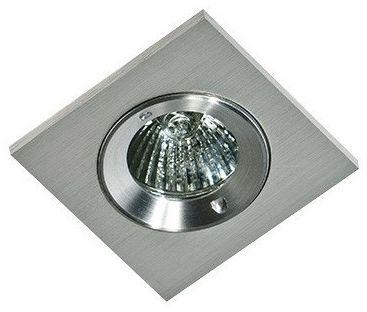 Oczko stropowe Pablo AZ1015 AZzardo kwadratowa oprawa w kolorze aluminium