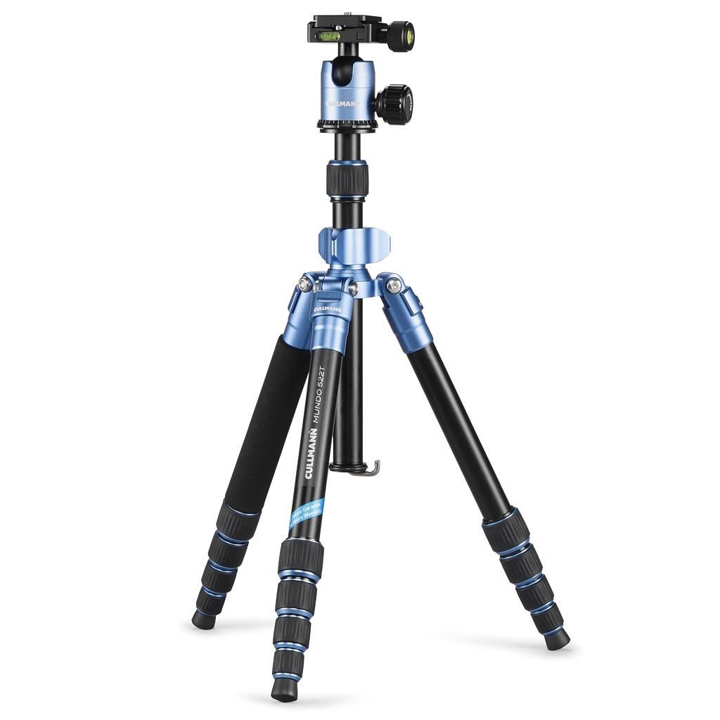 Statyw fotograficzny Cullmann MUNDO 522T niebieski