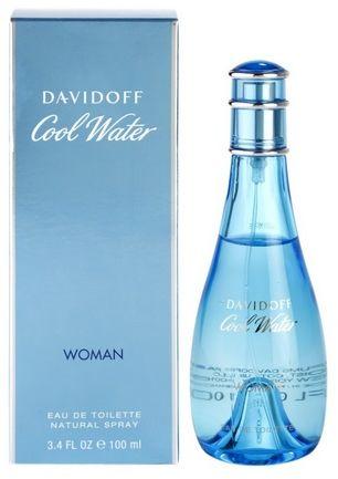 Davidoff Cool Water Woman woda toaletowa - 100ml Do każdego zamówienia upominek gratis.