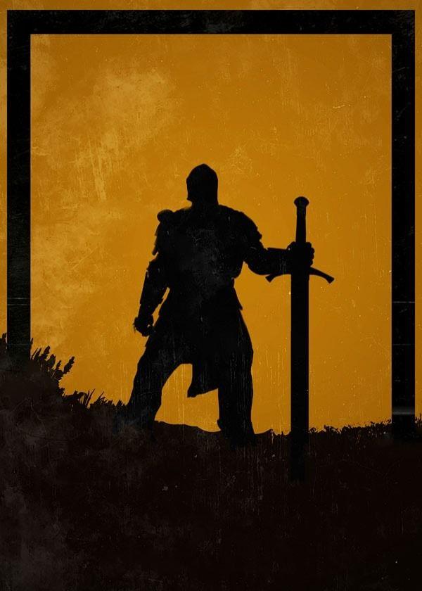 For honor - warden - plakat wymiar do wyboru: 42x59,4 cm