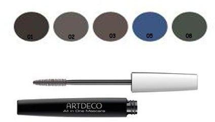 Artdeco All in One Mascara tusz do rzęs wydłużający i zwiększający objętość odcień 202.05 Blue 10 ml