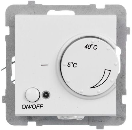 SONATA Regulator temperatury /czujnik napowietrzny/ biały RTP-1RN/m/00
