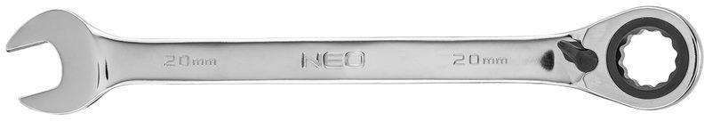Klucz płasko-oczkowy z grzechotką i przełącznikiem 20mm 09-332