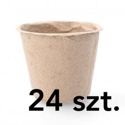Doniczki torfowe  8x8x8 cm  24 szt.