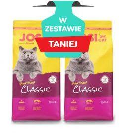 Josera Josicat Sterilised Classic Drób Łosoś 2 x 10 kg