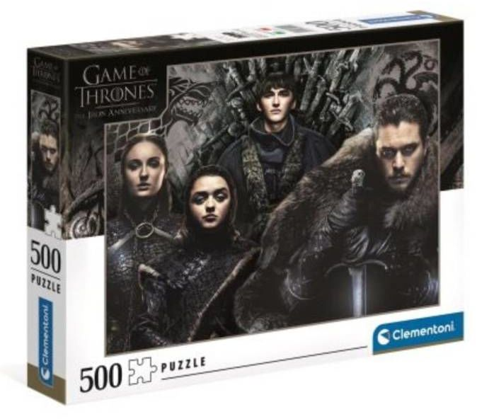 Puzzle 500 Game of Thrones - Clementoni