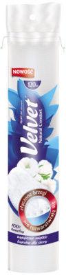 Velvet Płatki kosmetyczne Natural Comfort 120szt