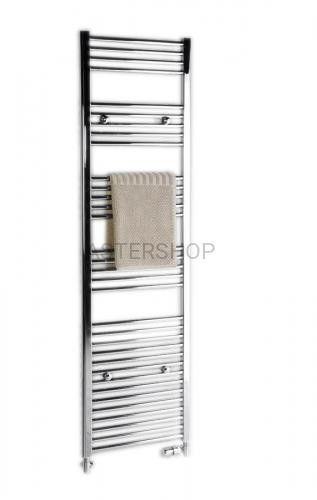 ALYA Grzejnik łazienkowy płaski stalowy chrom 196 W 450x800 mm 1120-01