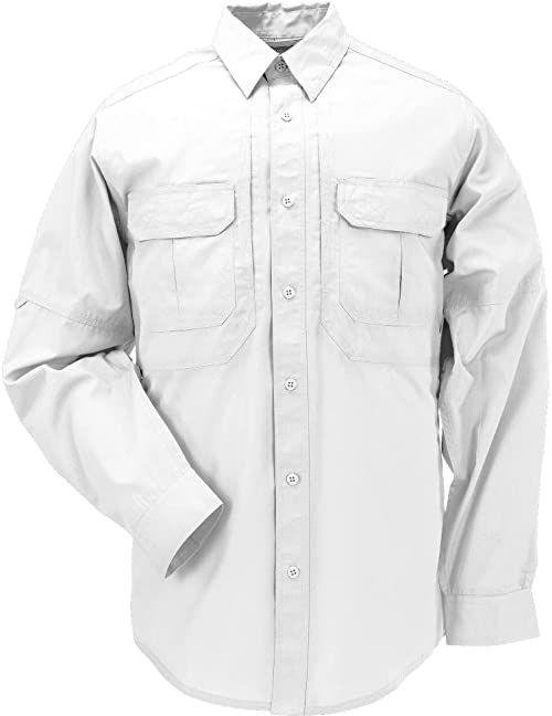 5.11 Tactical Series Taclite Pro męska koszulka z długim rękawem XS biała