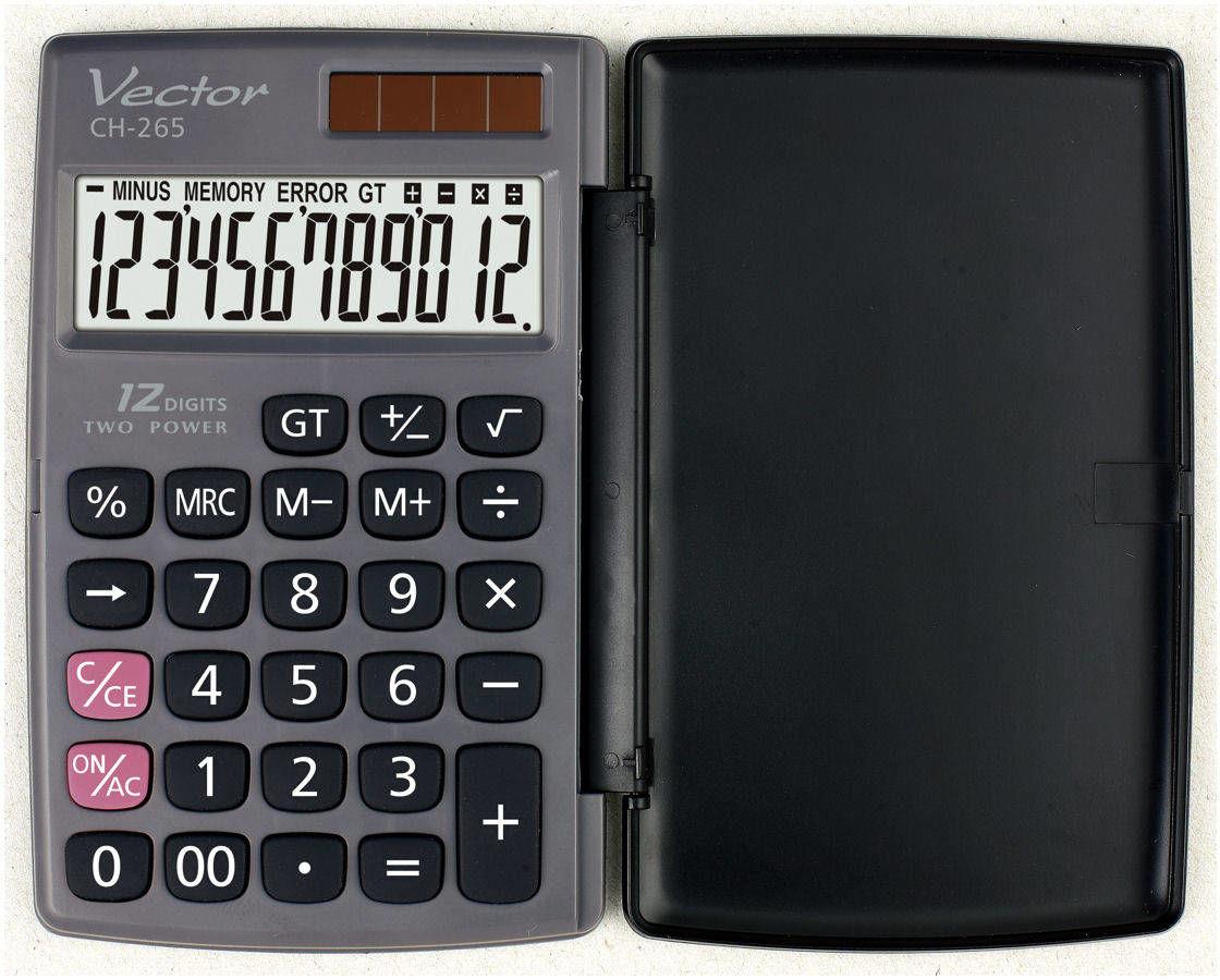 Kalkulator Vector CH-265 kieszonkowy